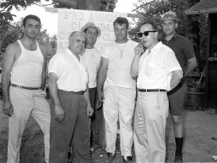 NYS Troopers & Hudson P.D. 3rd Annual Clam Bake at Oakes Farm 1964 (1)