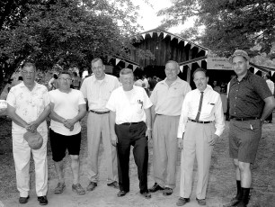 NYS Troopers & Hudson P.D. 3rd Annual Clam Bake at Oakes Farm 1964 (2)