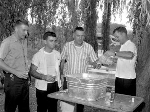 NYS Troopers & Hudson P.D. 3rd Annual Clam Bake at Oakes Farm 1964 (5)