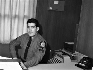 Sgt. McHugh NYS Police Claverack 1968