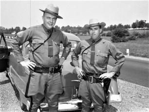 Troopers Fred Potts & Lee Konkel 1953