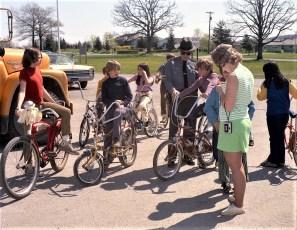 4H Testing Bikes at Ockawamick School 1972 (3)