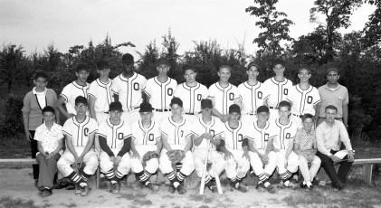 Ockawamick Central Baseball Team 1963