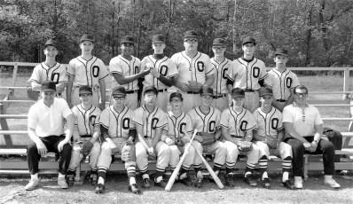 Ockawamick Central School Baseball Team 1968