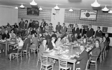 Ockawamick Central School F.H.A. & F.F.A. Joint Dinner 1955 (1)