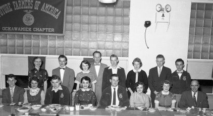 Ockawamick Central School F.H.A. & F.F.A. Joint Dinner 1955 (2)