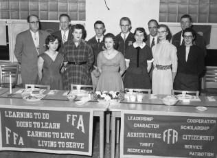 Ockawamick Central School F.H.A. & F.F.A. Joint Dinner 1956 (2)