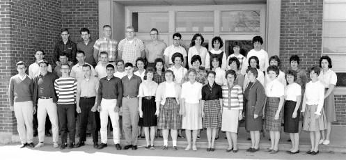 Ockawamick Central School Senior Class 1962
