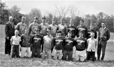 Ockawamick Central School Track Team 1968
