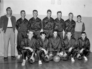 Ockawamick Central School Varsity Basketball 1958 59