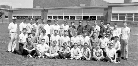 Ockawamick Central Track Team 1965