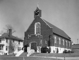 Church of Blessed Virgin Mary of Nativity Rt. 9J Stuyvesant 1958
