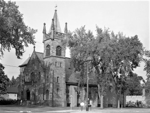 St. James Roman Catholic Church Rt. 203 & 66 Chatham 1957
