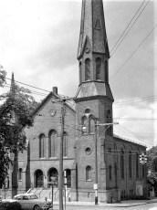 St. John's Lutheran Church Hudson 1957