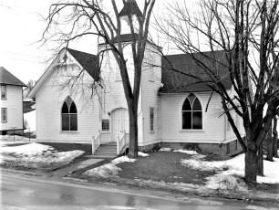 Stottville Methodist Church Stottville 1958