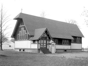 Trinity Episcopal Church Rt. 23 Claverack 1957