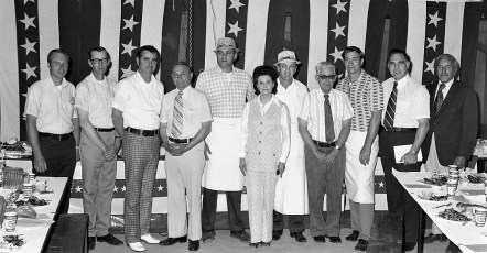 Col. Cty. Republican Candidates at Annual Picnic June 1975