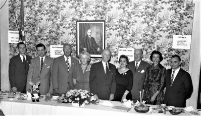 Democrat Dinner at General Worth Hotel Hudson 1954 (1)