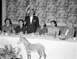 Democrats at General Worth Hotel Hudson 1956