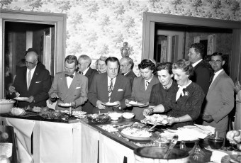Republican Dinner at the Mt. Washington House Hillsdale 1956 1