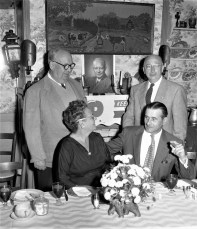 Republican Dinner at the Mt. Washington House Hillsdale 1956 3