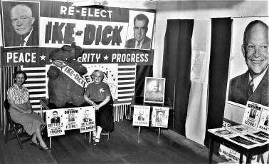 Republican Headquarters 701 Warren St. Hudson 1956 3