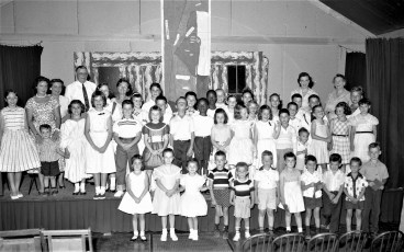 Livingston Reformed Church Summer Bible School 1958 (1)