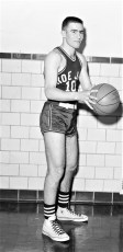 Roe Jan Central Basketball #10 George Gellert 1956