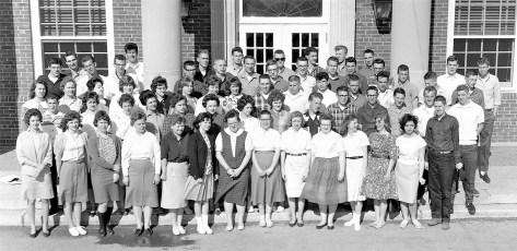 Roe Jan Central School Senior Class 1962