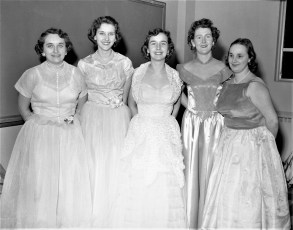 Group at St. Mary's Academy Hudson 1957