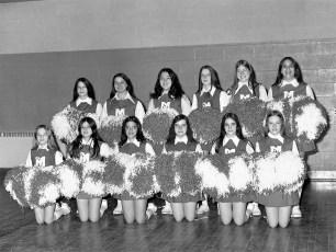 St. Mary's Academy Cheerleaders Hudson 1973 (1)