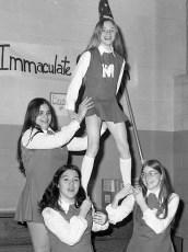 St. Mary's Academy Cheerleaders Hudson 1973 (2)