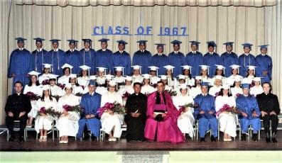 St. Mary's Academy Graduation Class of 67 (1)
