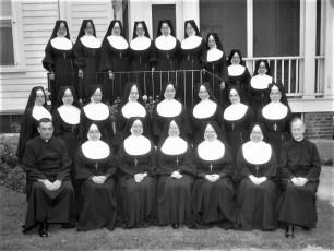 St. Marys Academy Sister Bebe group Hudson 1961