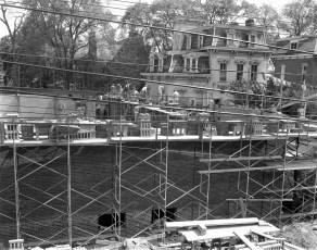 St. Mary's Academy construction May to Dec. 1956 (3)