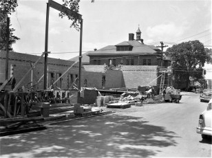 St. Mary's Academy construction May to Dec. 1956 (4)