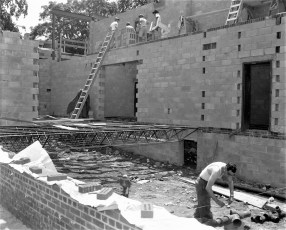 St. Mary's Academy construction May to Dec. 1956 (9)