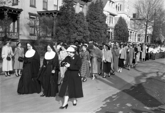 St. Mary's Academy laying and blessing the cornerstone May 6 1956 (3)