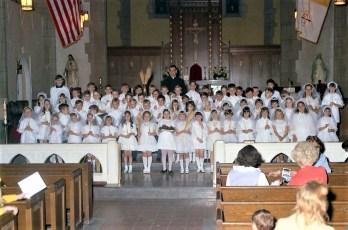 St. Mary's Church 1st Communion Hudson1970
