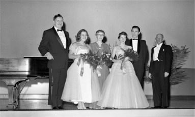 St. Mary's Church  Concert Hudson Jan. 1957