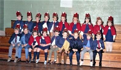 St. Mary's Elementary  Basketball  Hudson 1971 (4)