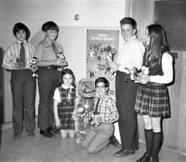 St. Mary's Elementary Magazine Sales Winners Hudson 1971