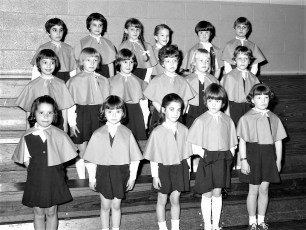 St. Mary's Kindergarten B-Ball 1968 (1)