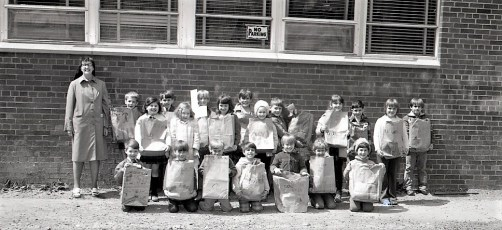 St. Mary's School Conservation Cleanup Day 1972 (2)
