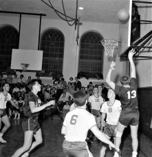 St. Mary's vs. St. John's at HHS Father Hart with Seniors 1956 (3)
