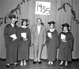 Tivoli High School Class of 1955 (1)