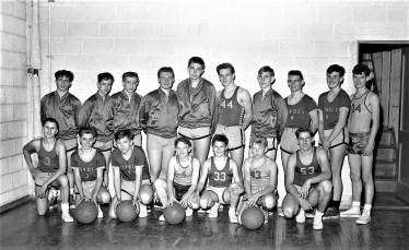 Tivoli School Basketball Team 1960