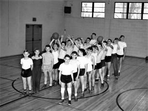 Tivoli School Sports 1949-50