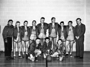 Tivoli School V Basketball 1949-50