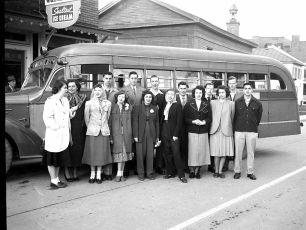 Tivoli School Washington Trip 1949